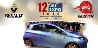 Auto Expo News & Updates - Renault to Showcase Renault ZOE