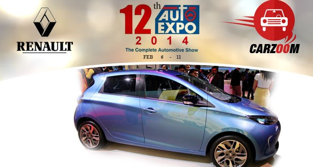 Auto Expo News & Updates - Renault to Showcase Renault ZOE
