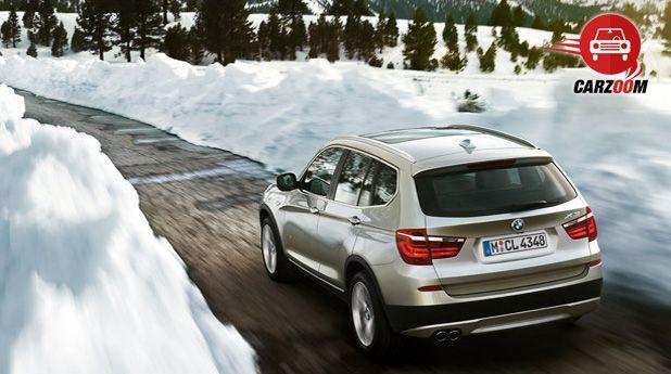 BMW X3 Exteriors Top View