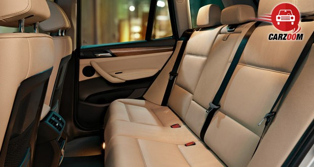 BMW X3 Interiors Seats