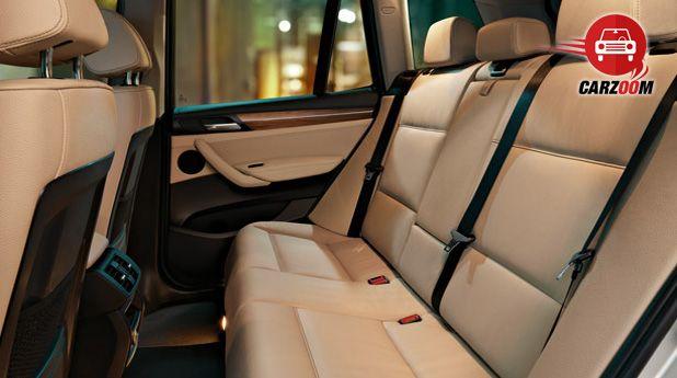 BMW X3 Interiors Seats