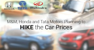 Car Prices Hike India