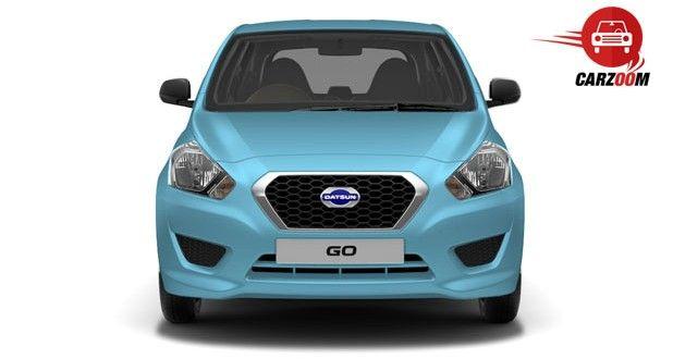 Datsun Go Front View Exteriors
