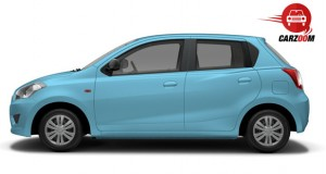 Datsun Go Side View Exteriors