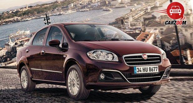 Fiat Linea Exteriors Top View