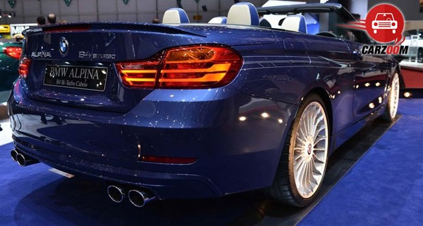 Geneva International Motor Show 2014 BMW ALPINA B4 Bi-Turbo Cabrio Exteriors Back View
