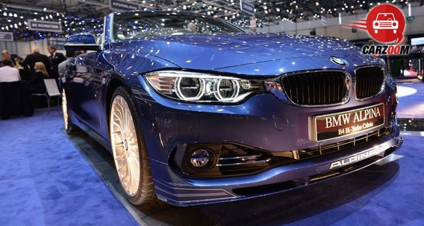 Geneva International Motor Show 2014 BMW ALPINA B4 Bi-Turbo Cabrio Exteriors Front View