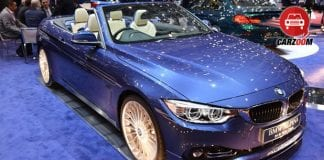 Geneva International Motor Show 2014 BMW ALPINA B4 Bi-Turbo Cabrio Exteriors Overall