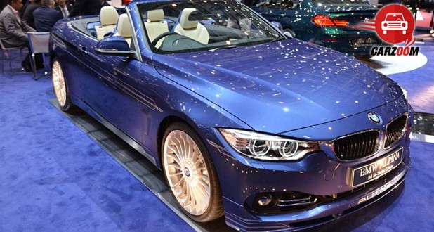 Geneva International Motor Show 2014 BMW ALPINA B4 Bi-Turbo Cabrio Exteriors Overall