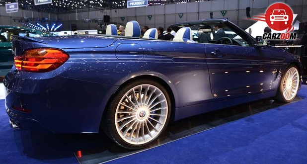 Geneva International Motor Show 2014 BMW ALPINA B4 Bi-Turbo Cabrio Exteriors Side View