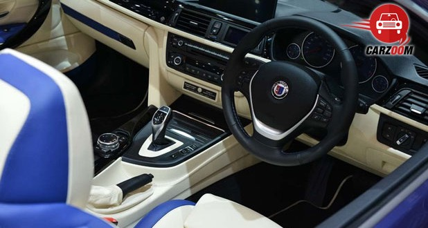 Geneva International Motor Show 2014 BMW ALPINA B4 Bi-Turbo Cabrio Interiors Dashboard