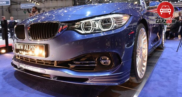 Geneva International Motor Show 2014 BMW ALPINA B4 Biturbo Cabrio Headlights View