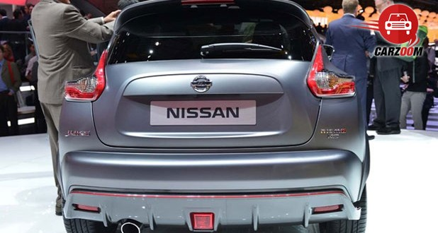 Geneva International Motor Show 2014 - NISSAN Juke NISMO RS Exteriors Back View