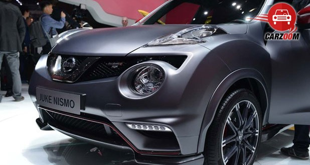 Geneva International Motor Show 2014 - NISSAN Juke NISMO RS Exteriors Front View