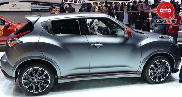 Geneva International Motor Show 2014 - NISSAN Juke NISMO RS Exteriors Side View