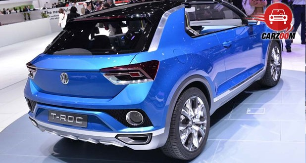 Geneva International Motor Show 2014 - VOLKSWAGEN T-Roc Exteriors Back View