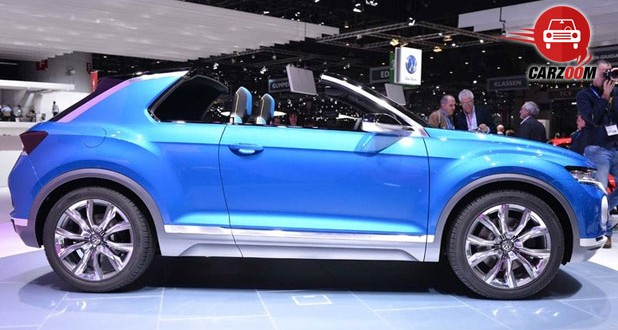Geneva International Motor Show 2014 - VOLKSWAGEN T-Roc Exteriors Side View