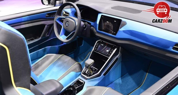 Geneva International Motor Show 2014 - VOLKSWAGEN T-Roc Interiors Dashboard
