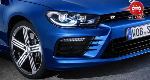 Geneva International Motor Show 2014 - Volkswagen Scirocco R Exteriors Front light