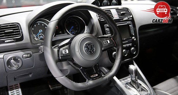 Geneva International Motor Show 2014 - Volkswagen Scirocco R Interiors Dashboard