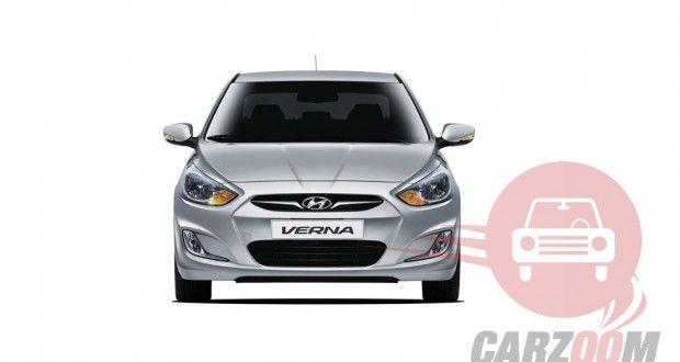 Hyundai Verna Exterior Front View