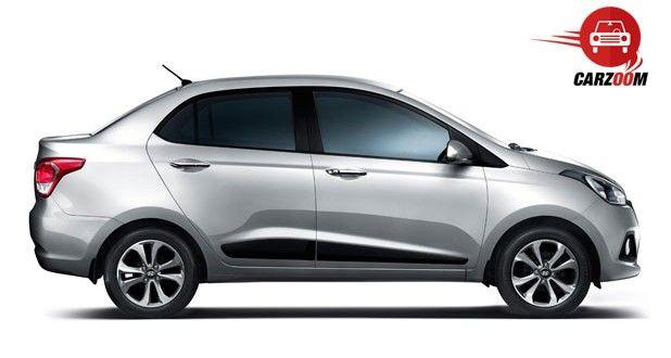 Hyundai Xcent Exteriors Side View