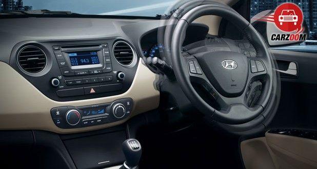 Hyundai Xcent Interiors Tilt Steering