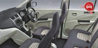 Maruti Suzuki Celerio Interiors Seats