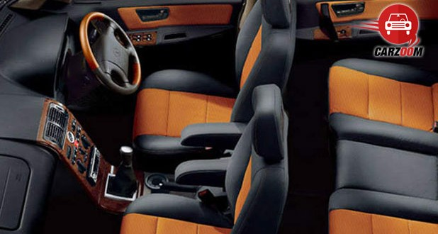 Tata Safari DICOR Interiors Dashboard
