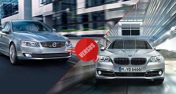Volvo S80 2014 vs BMW 5 series