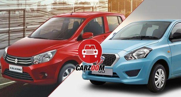 Brief comparison of Maruti Suzuki Celerio and Datsun Go
