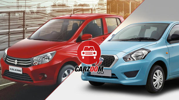 Maruti Suzuki Celerio vs Datsun GO Photos, Images ...