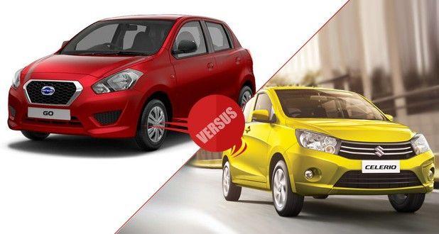 Datsun GO vs Maruti Suzuki Celerio