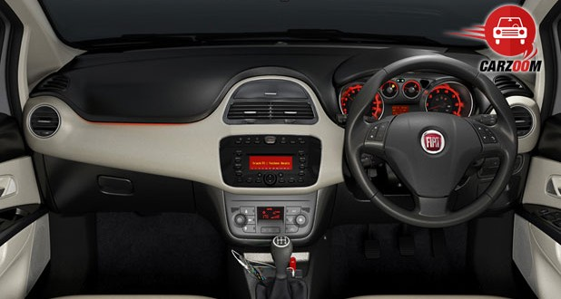 Fiat Linea Interiors Dashboard