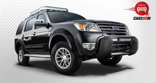 Ford Endeavour Exteriors Overall