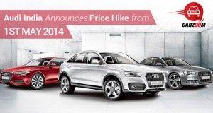 Audi Price Hike