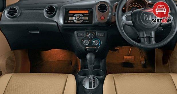 Honda Amaze Anniversary Interiors Dashboard