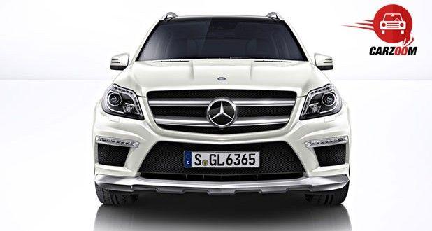 Mercedes-Benz GL 63 AMG Exteriors Front View