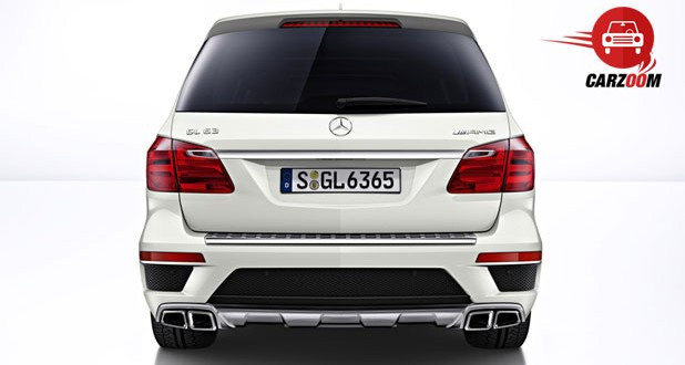Mercedes-Benz GL 63 AMG Exteriors Rear View