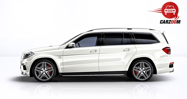 Mercedes-Benz GL 63 AMG Exteriors Side View