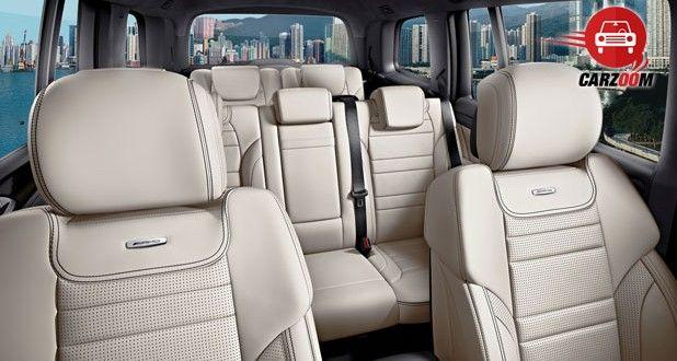 Mercedes-Benz GL 63 AMG Interiors Seats