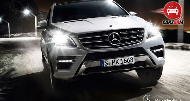 Mercedes-Benz M-Class Exteriors Front View