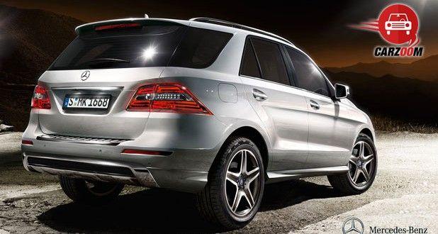 Mercedes-Benz M-Class Exteriors Rear View