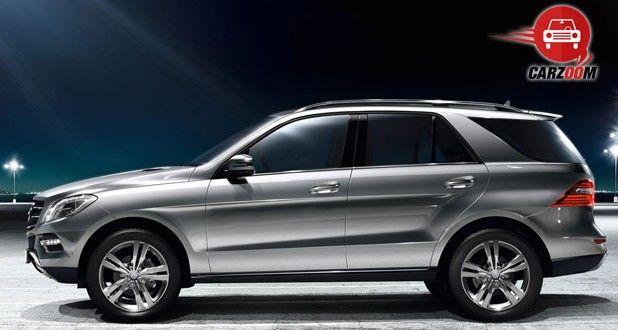 Mercedes-Benz M-Class Exteriors Side View