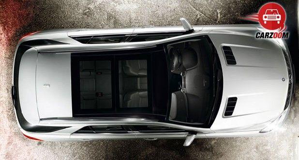 Mercedes-Benz M-Class Exteriors Top View