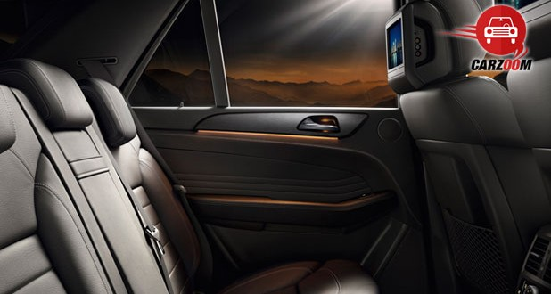 Mercedes-Benz M-Class Interiors Seats