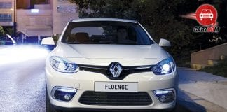 Renault Fluence Facelift Exteriors Front View
