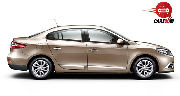 Renault Fluence Facelift Exteriors Side View