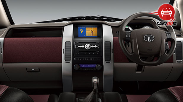 Tata Aria Dashboard