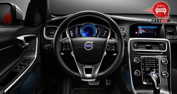 Volvo S60 Interiors Dashboard
